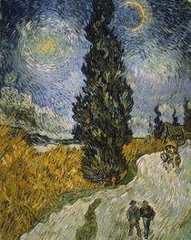 V. van Gogh, Zypresse gegen Sternenhimmel von AKG  Images