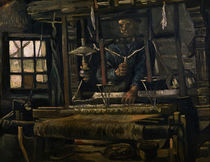 V. van Gogh, Weber am Webstuhl von AKG  Images