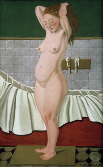 F.Vallotton, Woman in a bathroom by AKG  Images