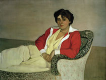 F.Vallotton, The Red Jacket by AKG  Images