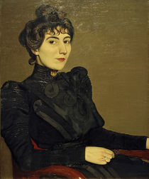 Marthe Mellot, Gemälde von F.Vallotton von AKG  Images