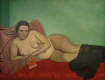 F.Vallotton, Female nude reclining by AKG  Images