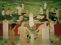 F.Vallotton, The pool on a summer's eve by AKG  Images