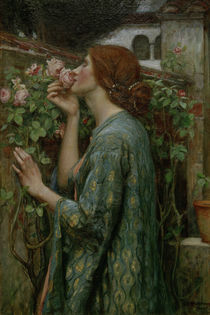 J.W.Waterhouse / The Soul of the Rose by AKG  Images