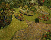 V. v. Gogh, Garden in Auvers / painting by AKG  Images
