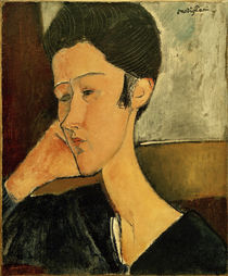 Amadeo Modigliani, Hanka Zborowska by AKG  Images
