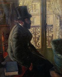 G.Caillebotte, Mann mit Zylinderhut von AKG  Images