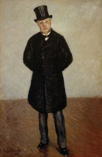 G.Caillebotte, Portrait of Jean Daurelle by AKG  Images