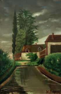 H.Rousseau, The Water Mill / Paint. by AKG  Images