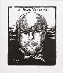 Paul Verlaine / Holzschnitt v. Vallotton by AKG  Images