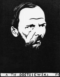F.Dostojewskij / Holzschnitt v. Vallotton von AKG  Images