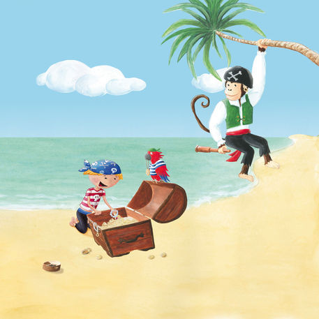 Piratenjunge