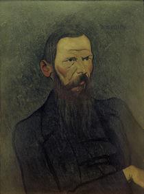 Dostojewskij / Gemälde von Vallotton by AKG  Images