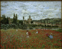 Claude Monet, Poppy Field nr. Vétheuil by AKG  Images