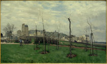A.Sisley, Vue de Montmartre von AKG  Images