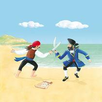 Piratenkampf von Gosia Kollek