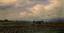 M.K.Klodt / Auf dem Acker/ 1872 von AKG  Images