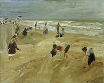 M.Liebermann, Strandszene in Noordwijk by AKG  Images