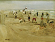 M.Liebermann, Am Strand von Noordwijk by AKG  Images