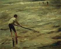 M.Liebermann, Muschelfischer – Graue See von AKG  Images