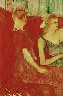 Toulouse-Lautrec, Im Salon d. Rue Moulins von AKG  Images