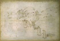 Dante, Göttliche Komödie / Botticelli von AKG  Images