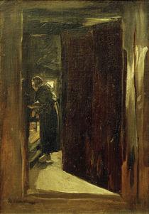 M.Liebermann, Frau in der Küche by AKG  Images