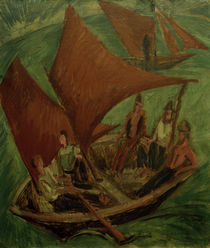 E.L.Kirchner / Fishing Boats by AKG  Images