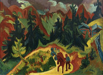 Ernst Ludwig Kirchner, Mountain landscape by AKG  Images