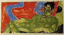 Otto Mueller, woodcut by Ernst Ludwig Kirchner by AKG  Images