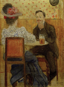 A.Macke / Couple Drinking Beer / 1907 by AKG  Images
