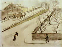 A.Macke / Street Corner in the Snow / 1911 by AKG  Images
