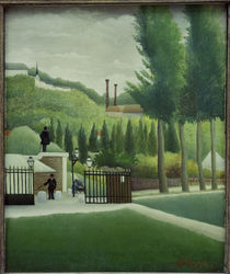 H.Rousseau, The Toll Gate by AKG  Images