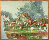 Cézanne / Winterlandscape Giverny / 1894 by AKG  Images