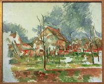 P.Cézanne, Winterlandschaft – Giverny von AKG  Images