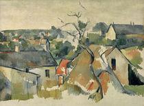 Cézanne, Les Toits von AKG  Images