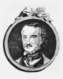 Edgar Allan Poe / Etching by Manet by AKG  Images