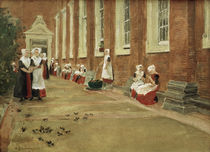 Liebermann / Amsterdam Orphanage / 1876 by AKG  Images