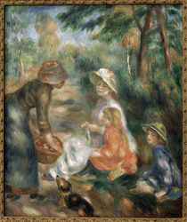 Renoir / Woman selling apples by AKG  Images