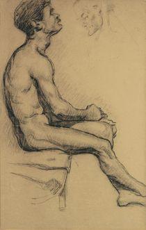 Cézanne, Aktstudie eines Schwarzen von AKG  Images