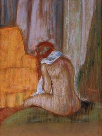 Degas / Nu assis de dos / 1890/1895 by AKG  Images