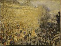 Monet / Boulevard des Capucines / 1873 by AKG  Images