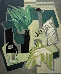 J.Gris, Vase mit Maiglöckchen von AKG  Images