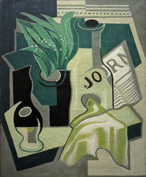 J.Gris, Vase mit Maiglöckchen by AKG  Images
