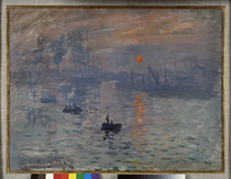 Monet / Impression, soleil levant / 1872 by AKG  Images