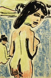 E.L.Kirchner / Bather at a Lake by AKG  Images