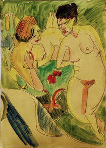 E.L.Kirchner / Two Female Nudes by AKG  Images