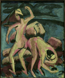 E.L.Kirchner / Two Bathers / Fehmarn by AKG  Images