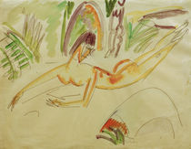 E.L.Kirchner / Reclining Nude by AKG  Images