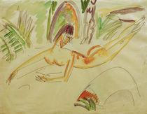E.L.Kirchner, Liegender weiblicher Akt von AKG  Images